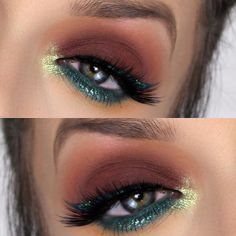 Gorgeous Makeup: Tips and Tricks With Eye Makeup and Eyeshadow – Makeup Design Ideas Exotic Makeup, Sexy Eye Makeup, Makeup Eye Looks, Natural Eye Makeup, Makeup For Brown Eyes, Gorgeous Makeup, Eyeshadow Makeup, Eyeshadow Palette, Eyeshadows
