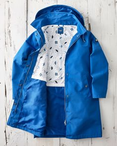 Cotton Traders Women's Weatherproof Jacket in Blue Free Catalogs, Great British, Customer Experience, Upper Body, Raincoat, Suits, Cotton, Jackets, Clothes