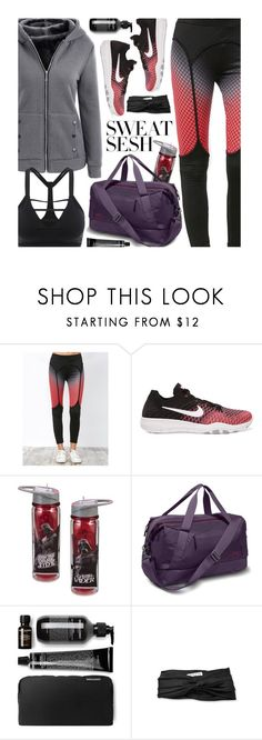 """""""Sweat Sesh: Gym Style"""" by beebeely-look ❤ liked on Polyvore featuring NIKE, The North Face, Eugenia Kim, sporty, sammydress, sportystyle, sweatsesh and gymessentials"""