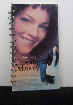 Recycled Journal From Crossing Delancey VHS by AWRecycledJournals, $8.00