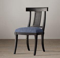Klismos Fabric Side Chair
