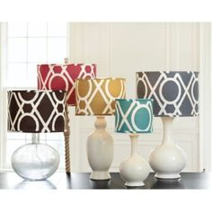 Camargo Limited Edition Lamp Shade | Ballard Designs - perfect in turquoise for my office at work!