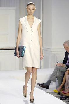 Oscar de la Renta Spring 2008 Ready-to-Wear Fashion Show - Magdalena Frackowiak