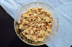 Gluten Free SCD and Veggie: Grain Free & Vegan Crumble Topping or Cereal GF SC...
