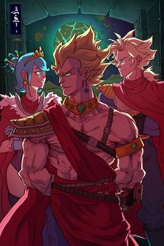 Return of the King - The Royal Family by raging-akujiki.deviantart.com on @deviantART