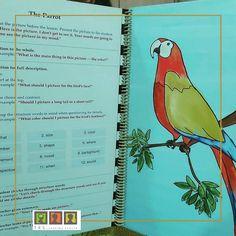 يمكن استخدام مثل هذ الكتاب لتطوير مهارة #التعبير عند #الأطفال بحيث نقوم باعطاء الصورة للطفل و نطلب منه أن يقوم بشرح و وصف ما يراه في الصورة و مساعدته على التركيز على التفاصيل حتى يصل الى مرحلة شرح مفصل عما يراه في الصورة  #مركز_تي_ار_اس_التعليمي #مركز_trs_التعليمي #عمان #الاردن #trslearningcenter #amman #jordan #ammankids #communication Child Development Activities, Learning Centers, Language, Presents, Mindfulness, Student, Words, Children, Pictures