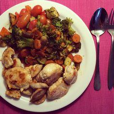 .@1fashion2fitness3food | Böses blödes Abendessenlicht aber es gab: 400g Hähnchen (kann man sich schon... | Webstagram