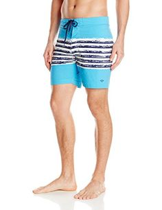 Introducing Dockers Mens SAND Stripe Swim Trunks Edgewater34. Great Product and follow us to get more updates!