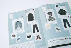 Japanese Catalog Design | Creative Print Design