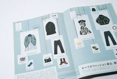 Japanese Catalog Design | Creative Print Design
