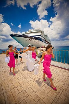 Cruise Wedding ... This IS how we are getting married!! Can't wait!! *2014*