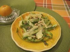 Shaved Asparagus Salad #salads #JillsTable Asparagus Salad, Thai Red Curry, Shaving, Salads, Chicken, Ethnic Recipes, Food, Meal, Essen