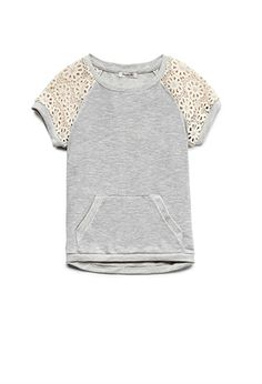 Retro Girl Sweatshirt (Kids) | FOREVER21 girls - 2000089484