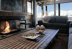 Alpine chalet living