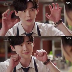 While you were sleeping Dorama K drama Lee jong suk and Suzy