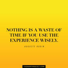 Remember to use your time wisely.