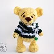Yellow Teddy Bear - via @Craftsy