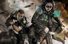 Interior illustration for Catalyst Game Labs Shadowrun 5th Edition