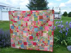 Disapearing 9-Patch Quilt - my grandma says to wait till I'm old like her to quilt!