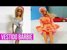 Vestido Verde a crochet para Muñeca Parte1 - YouTube