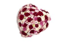 Romantyczny prezent dla dziewczyny: Serce z róż