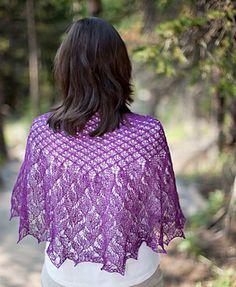 Longsuffering shawl - free pattern