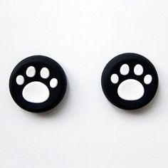 Vivi Audio Thumb Stick Grips Cap Cover Joystick Thumbsticks Caps For PS4 XBOX ONE XBOX 360 PS3 PS2 White Cat Dog Paw * You can get additional details at the image link.Note:It is affiliate link to Amazon.