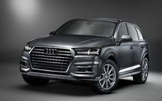 Scarica sfondi Audi Q7, auto tedesche, TDI, 2017 auto, Suv, Audi