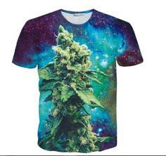 New-Fashion-Womens-Mens-Hemp-weed-leaf-Funny-Print-3D-T-Shirt