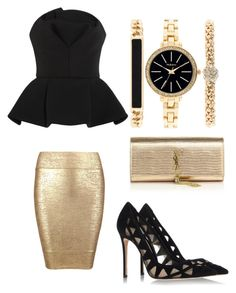 """""""I can bring you fame"""" by gabrielle-dixon ❤ liked on Polyvore featuring Posh Girl, Gianvito Rossi, Chalayan, Yves Saint Laurent, Style & Co., women's clothing, women's fashion, women, female and woman"""