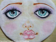 Carinha de boneca pintada