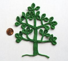 Crochet Tree Pattern  PDF by CaitlinSainio on Etsy                                                                                                                                                                                 More