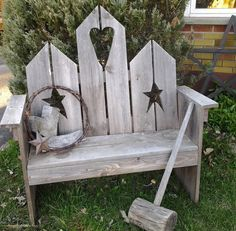 instructions to build a bench with birdhouse back - Google Search