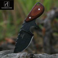 DAOMACHEN sobrevivir táctico del cuchillo de caza al aire libre que acampa cuchillos multi herramienta de buceo y lavado a la Piedra hoja Envío rápido libre(China (Mainland))