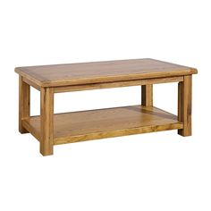 Direct Home Living Country Solid Oak Coffee Table - Dining Room from Direct Home Living UK