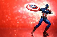 Universal Captain America. First in a week-long series of Avengers photos.