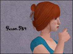Raon F84 Texture/colours, notes and credits are here. 5 colours. Teen to elder. Binned, familied, elder grey linked to black and compressorized. Mesh by Raon included. Bodyshop Preview | Clip Texture | Download Enjoy! :D
