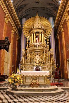 High Altar of the Catedral Basilica de Salta y Santuario del Señor y la Virgen del Milagro; Salta, Argentina