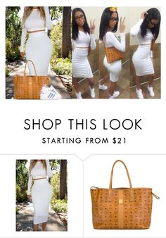"""""""look alike"""" by siniababy ❤ liked on Polyvore featuring MCM and adidas"""