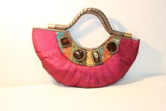 I'm selling EVENING BAG IN SILKY MAROON COLOR - A$24.00