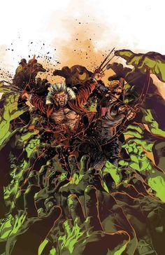 Title: Old Man Logan, Vol. Online Comic Books, Marvel Comic Books, Comic Books Art, Comic Art, Book Art, Old Man Logan, Clint Barton, Hawkeye, Mcu Marvel