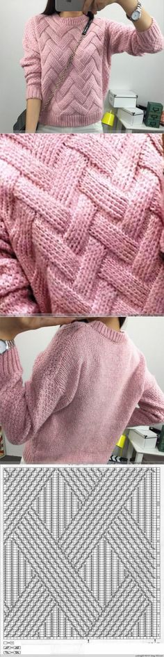 Knitting Techniques Diy Tricot 57 Ideas For 2019 Knitting Stitches, Knitting Designs, Free Knitting, Baby Knitting, Pulls, Diy Clothes, Knitwear, Knitting Patterns, Knit Crochet