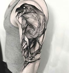 Crow tattoo