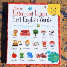 Călători printre cărți: Usborne Listen and learn first english words