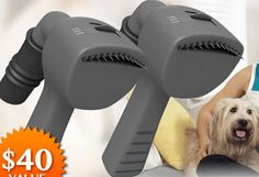 An innovative pet grooming tool that vacuums hair straight from your pet. Doesn't work EXACTLY As Seen on TV ಠ_ಠ Read Trial & Customer Reviews.
