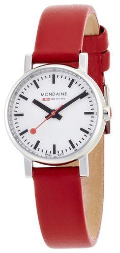 Mondaine Ladies Analogue strap watch: Mondaine: Amazon.co.uk: Watches