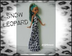 Monster HIgh NEFERA Doll Clothes   Handmade Custom by DOLLS4EMMA