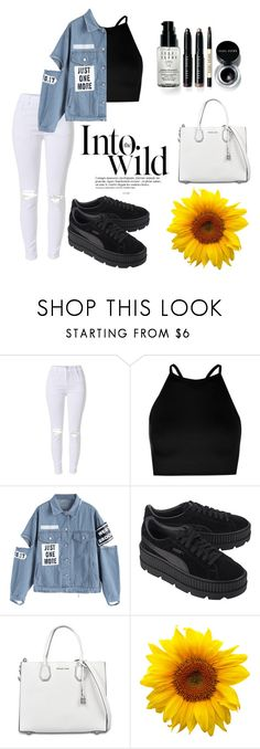 """Untitled #31"" by oalma952 on Polyvore featuring Boohoo, Puma, MICHAEL Michael Kors, Bobbi Brown Cosmetics and Anja"