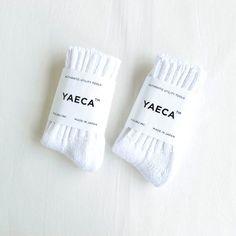 Cotton Silk Socks #white