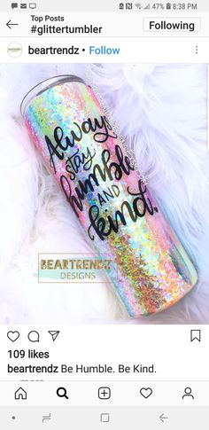 Vinyl Tumblers, Custom Tumblers, Glitter Cups, Glitter Tumblers, Coffee Mug Crafts, Epoxy, Tumbler Quotes, Diy Craft Projects, Vinyl Projects